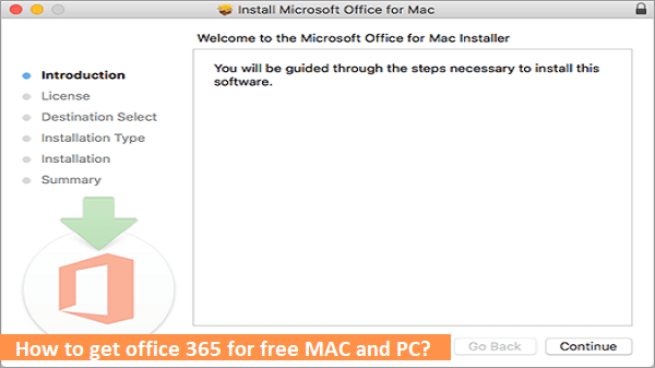 office 365 for free MAC