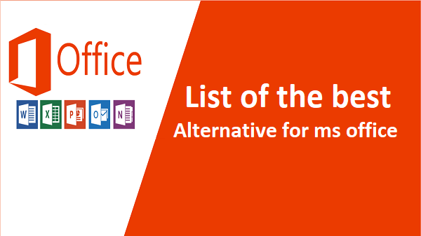 alternative for ms office